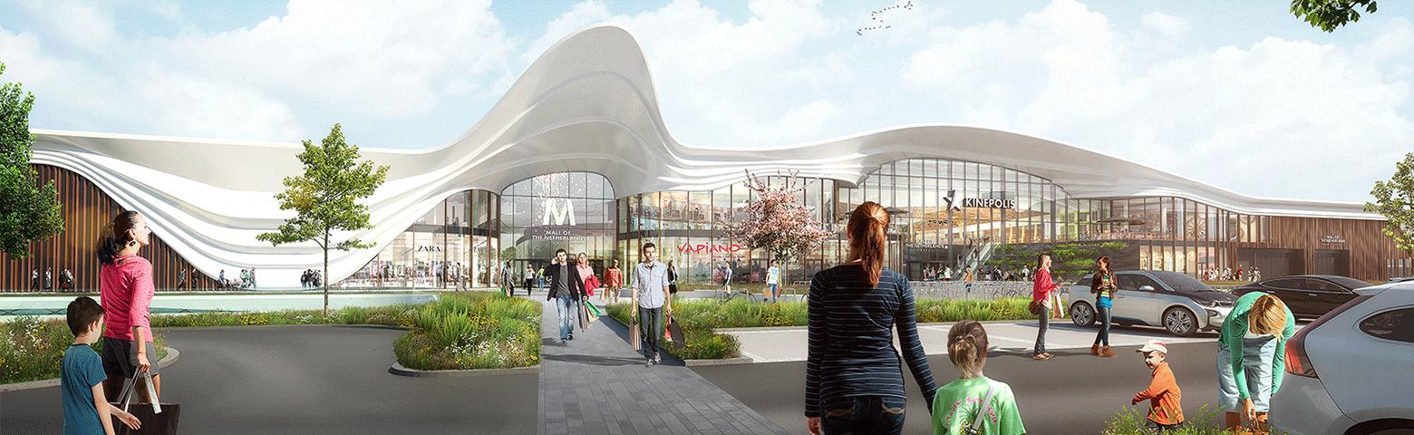 Fire- en securitysystemen voor Mall of the Netherlands