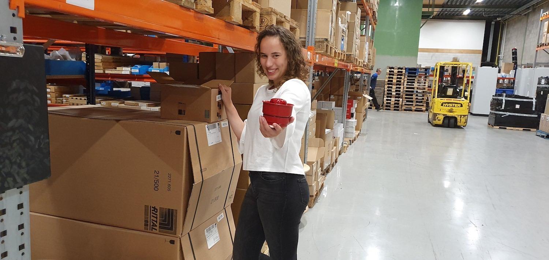 Interview met stagiaire Chantal Boll, commercieel technicus